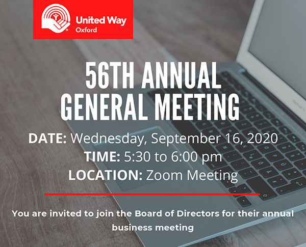 56th Annual General Meeting Blog post
