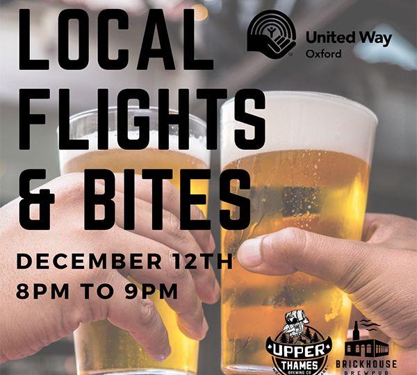 Local Flights & Bites - Website